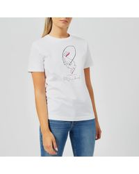 PS by Paul Smith - Women's Gym Bunny Tshirt - Lyst