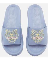 KENZO - Women's Pool Slide Sandals - Lyst