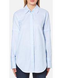 Helmut Lang | Women's Tuxedo Shirt | Lyst