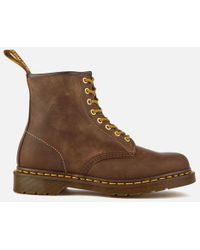 Dr. Martens - Men's 1460 Crazy Horse Leather 8eye Boots - Lyst