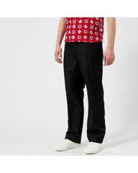 Maison Margiela - Men's Wool Gabardine Elastic Waist Trousers - Lyst