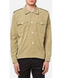 Our Legacy - Casual Military Shirt - Lyst
