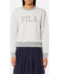 Fila - Blackline Women's Sheena Fashion Sweatshirt - Lyst