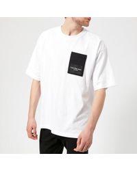 Calvin Klein - Men's Boreos 2 Relaxed Fit Crew Neck Tshirt - Lyst