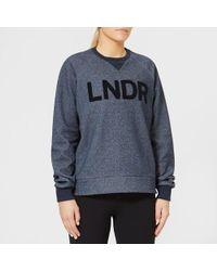LNDR - Women's Crew Neck Sweatshirt - Lyst