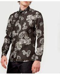 Versace Patterned Long Sleeve Shirt