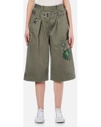 Marc Jacobs - Women's Long Cargo Shorts - Lyst