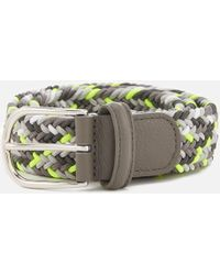 Andersons - Woven Fabric Belt - Lyst