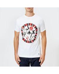 Vivienne Westwood - Men's Organic Jersey Printed Peru Tshirt - Lyst
