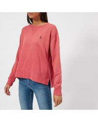 Polo Ralph Lauren - Women's Logo Sweatshirt - Lyst