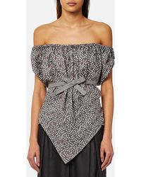 Vivienne Westwood Anglomania - Hope Gypsy Blouse - Lyst