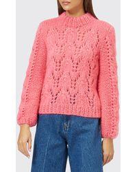 Ganni - The Julliard Mohair Sweater - Lyst