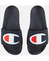 Champion - Men's Pool Sliders - Lyst