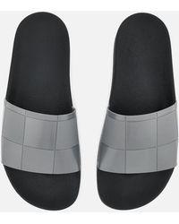 adidas By Raf Simons - Men's Adilette Checkerboard Slider Sandals - Lyst