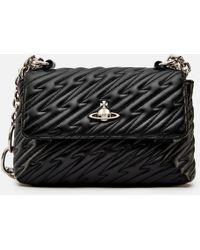 94bf301269 Vivienne Westwood Large Coventry Handbag in Black - Lyst