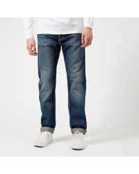 Edwin - Ed-80 Slim Tapered Rainbow Selvedge Jeans - Lyst