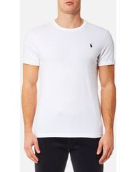 Polo Ralph Lauren - Men's Custom Fit Crew Neck Tshirt - Lyst