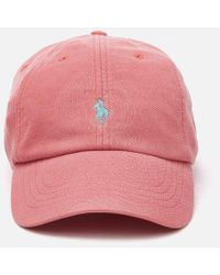 Polo Ralph Lauren - Pique Cotton Baseball Cap - Lyst
