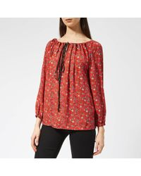 Vivienne Westwood Anglomania - Gypsy Blouse - Lyst