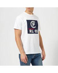 Polo Ralph Lauren - Men's Regatta Jersey Logo Short Sleeve Tshirt - Lyst