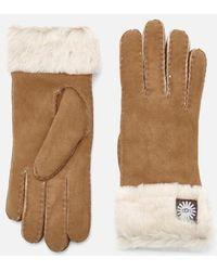 UGG - Women's Sheepskin Classic Turn Cuff Gloves - Lyst