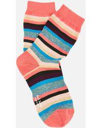 Paul Smith - Isla Stripe Socks - Lyst