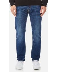 Edwin - Men's Ed55 Regular Tapered Rainbow Selvedge Jeans - Lyst