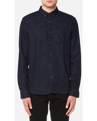 HUGO - Emingway Denim Shirt - Lyst