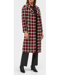 McQ - Women's Casual Check Coat - Lyst