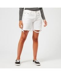 Polo Ralph Lauren - Women's Boyfriend Shorts - Lyst