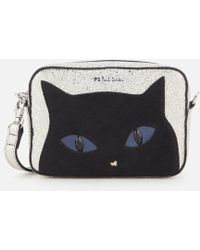PS by Paul Smith - Women's Silver Cat Cross Body Bag - Lyst