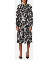 McQ - Women's Pussybow Dress - Lyst