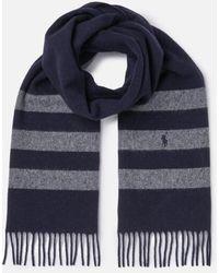 Polo Ralph Lauren - Women's Stripe Scarf - Lyst
