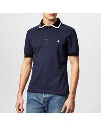 Vivienne Westwood - Men's Pique Polo Shirt - Lyst