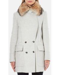 Belstaff - Women's Whitney Coat With Fur - Lyst