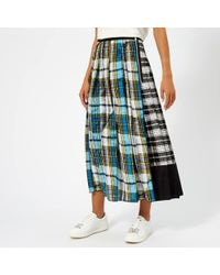 Marc Jacobs - Women's Plaid Long Skirt - Lyst