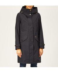 Woolrich - Women's Waterproof Mac With Hood And Detachable Gilet - Lyst