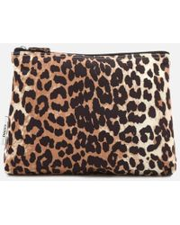 Ganni - Women's Fairmont Make Up Bag - Lyst