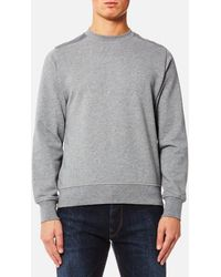 PS by Paul Smith - Men's Panelled Crew Neck Sweatshirt - Lyst