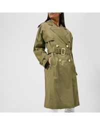 Michael Kors - Michael Women's Wide Sleeve Trench Coat - Lyst