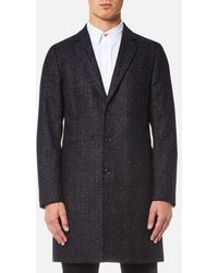 PS by Paul Smith - Men's Single Breasted Overcoat - Lyst