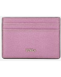 Furla - Women's Babylon Small Credit Card Case - Lyst