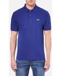 Lacoste - Men's Short Sleeve Polo Shirt - Lyst