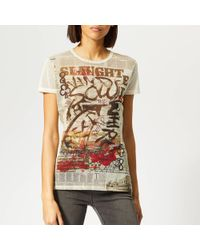 73b0cbbbbf9a22 Women's Vivienne Westwood Anglomania T-shirts Online Sale - Lyst