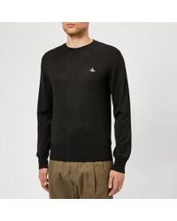 Vivienne Westwood - Men's Classic Round Neck Knitted Jumper - Lyst
