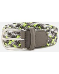 Andersons - Men's Woven Fabric Belt - Lyst