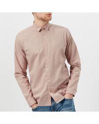 Oliver Spencer - Men's Clerkenwell Tab Shirt - Lyst