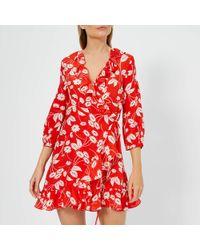 RIXO London Abigail Mini Dress