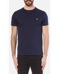 Lacoste - Men's Classic Pima Tshirt - Lyst