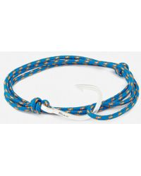 Miansai | Men's Rope Bracelet With Silver Hook | Lyst